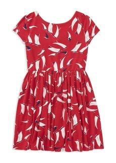 Ralph Lauren: Polo Polo Ralph Lauren Girls' Sailboat-Print Dress - Big Kid