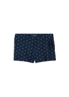 Ralph Lauren: Polo Polo Ralph Lauren Girls' Seersucker Star-Print Shorts - Big Kid