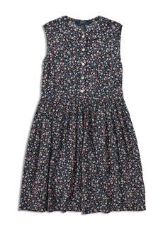 Ralph Lauren: Polo Polo Ralph Lauren Girls' Sleeveless Floral Dress - Big Kid