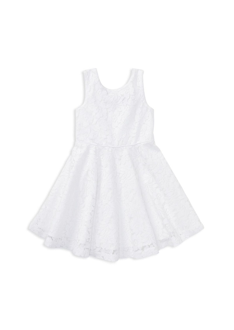 Polo Ralph Lauren Girls' Sleeveless Lace Dress - Little Kid
