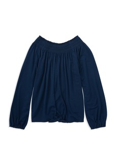 Ralph Lauren: Polo Polo Ralph Lauren Girls' Smocked Top - Big Kid