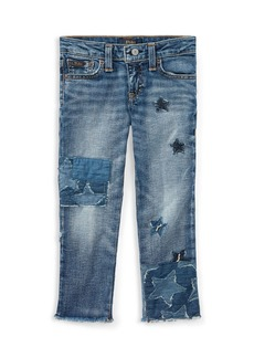 Ralph Lauren: Polo Polo Ralph Lauren Girls' Star Patchwork Jeans - Little Kid