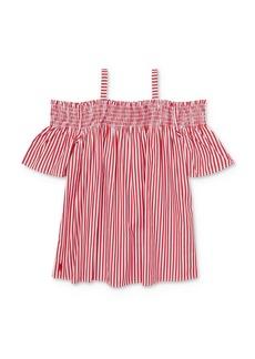 Ralph Lauren: Polo Polo Ralph Lauren Girls' Striped Off-the-Shoulder Top - Big Kid