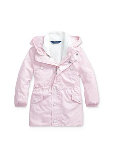 Ralph Lauren: Polo Polo Ralph Lauren Girls' Three-in-One Coat - Little Kid