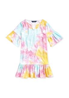 Ralph Lauren: Polo Polo Ralph Lauren Girls' Tie-Dyed Cover-Up Dress - Big Kid