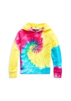 Ralph Lauren: Polo Polo Ralph Lauren Girls' Tie-Dyed Hoodie - Big Kid