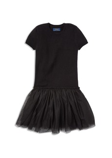 Ralph Lauren: Polo Polo Ralph Lauren Girls' Tulle Sweater Dress - Little Kid