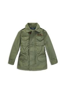 Ralph Lauren: Polo Polo Ralph Lauren Girls' Twill Jacket - Big Kid