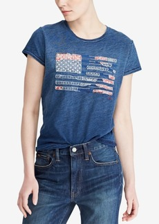 Ralph Lauren: Polo Polo Ralph Lauren Graphic Cotton T-Shirt