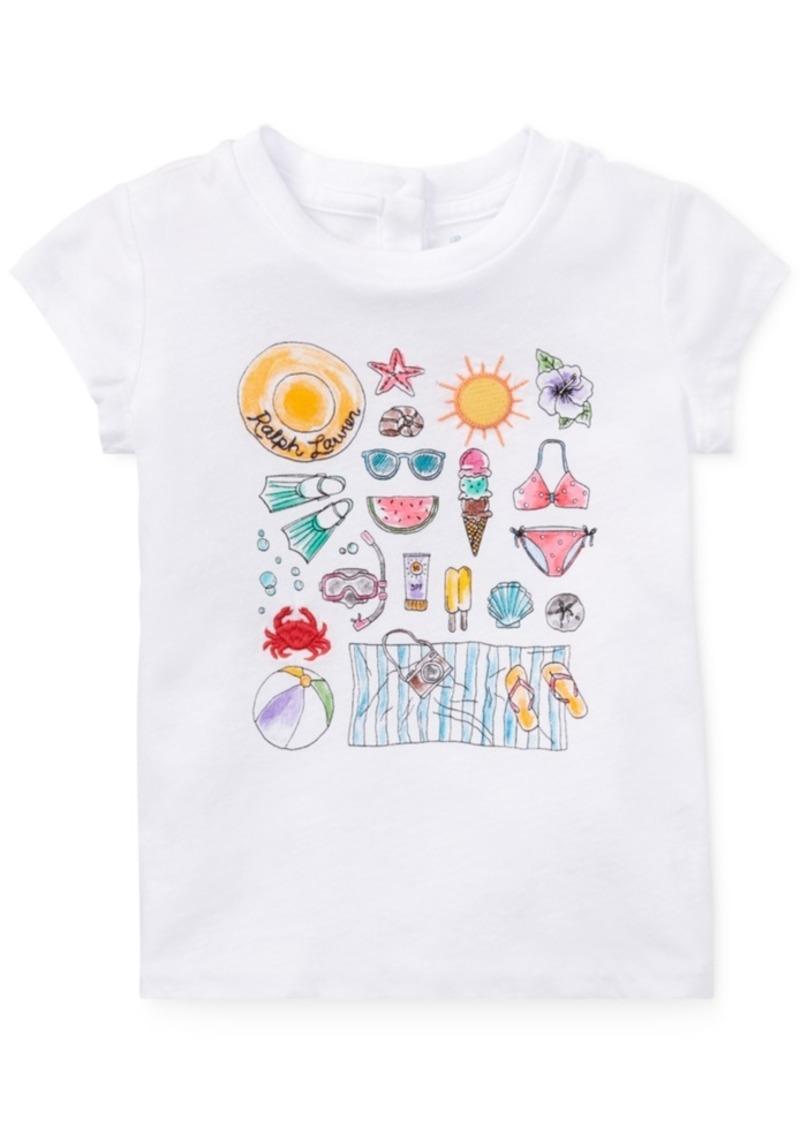 82b20212 Ralph Lauren: Polo Polo Ralph Lauren Graphic Cotton T-Shirt, Baby ...