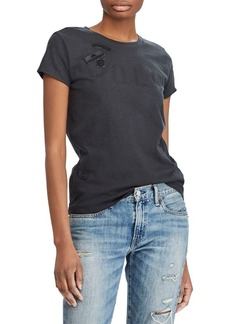 Ralph Lauren: Polo Polo Ralph Lauren Graphic Cotton Tee