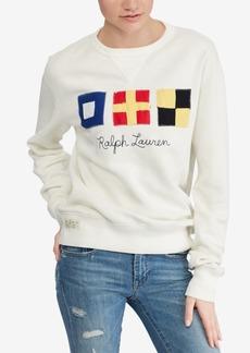 Ralph Lauren: Polo Polo Ralph Lauren Graphic Fleece Sweatshirt