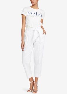 Ralph Lauren: Polo Polo Ralph Lauren Graphic-Print Cotton T-Shirt