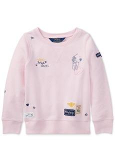 Ralph Lauren: Polo Polo Ralph Lauren Graphic Sweatshirt, Little Girls