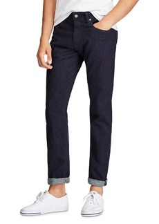 Ralph Lauren Polo Polo Ralph Lauren Hampton Relaxed Straight Fit Jeans in Dark Miller