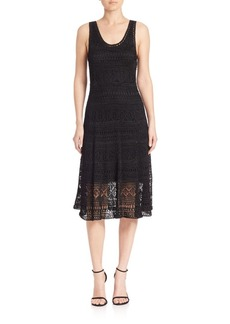 Polo Ralph Lauren Hand-Crochet A-Line Dress