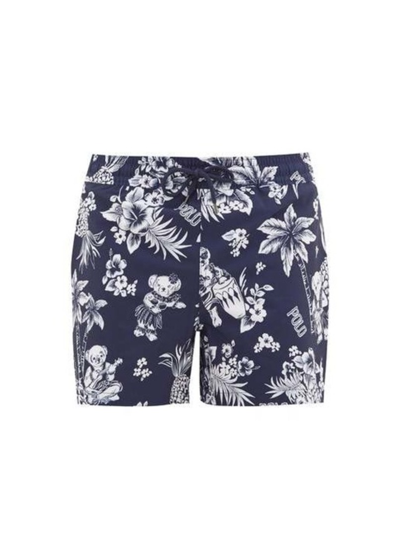 Ralph Lauren Polo Polo Ralph Lauren Hawaiian-print swim shorts