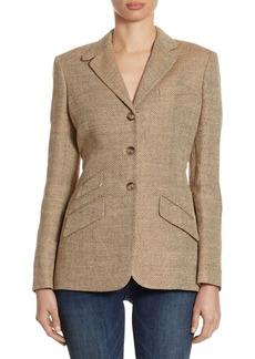 Ralph Lauren: Polo Herringbone Textured Blazer