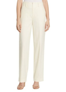Polo Ralph Lauren High-Waist Crepe Straight-Leg Pants