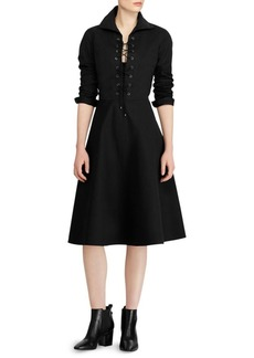 Ralph Lauren: Polo Holly Lace-Up Dress