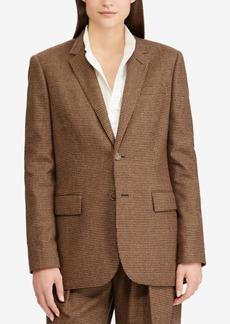 Ralph Lauren: Polo Polo Ralph Lauren Houndstooth Tweed Blazer
