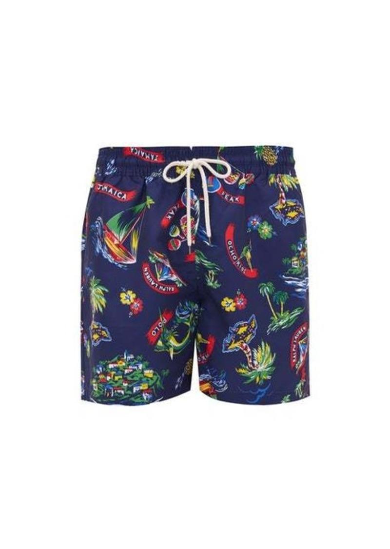 Ralph Lauren Polo Polo Ralph Lauren Jamaica-print swim shorts