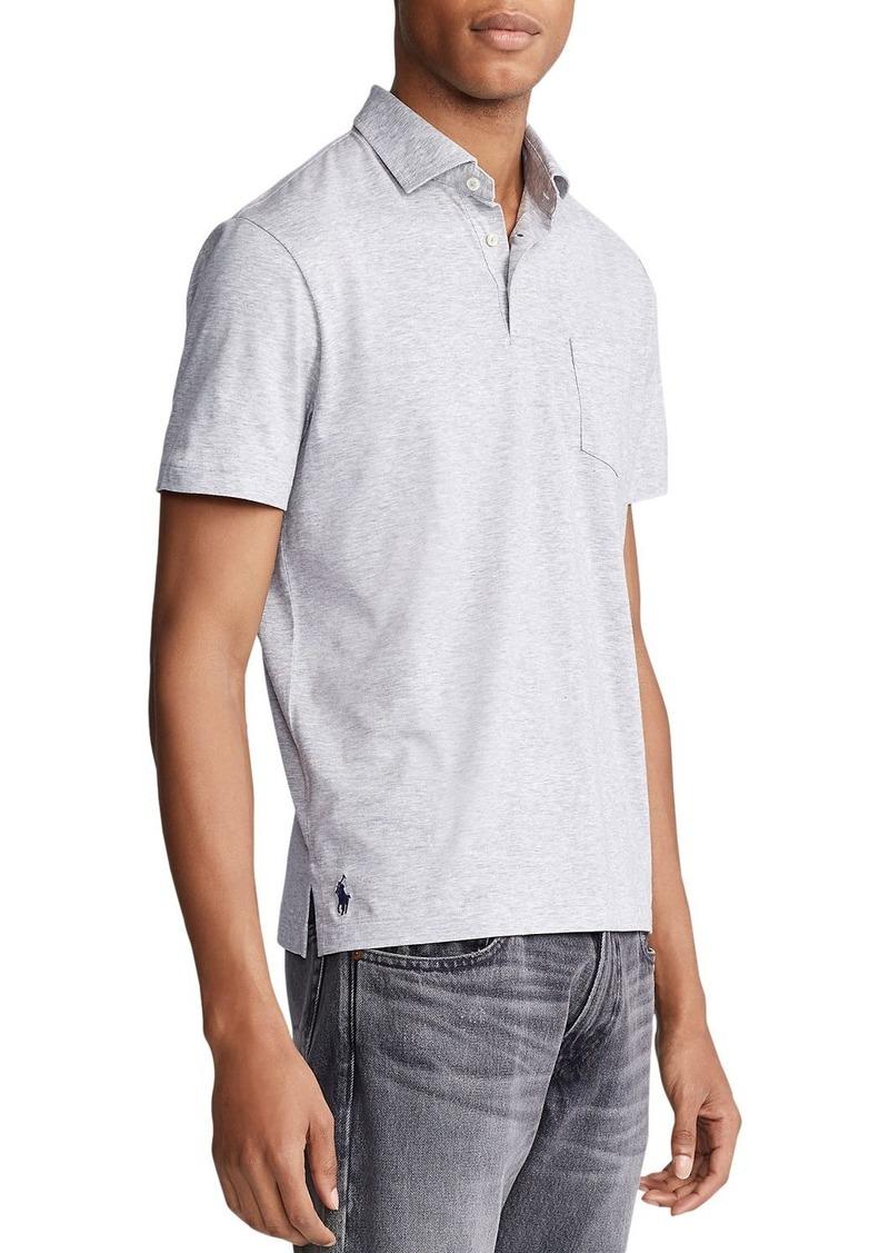 Ralph Lauren Polo Polo Ralph Lauren Jersey Custom Jersey Slim Fit Polo Shirt