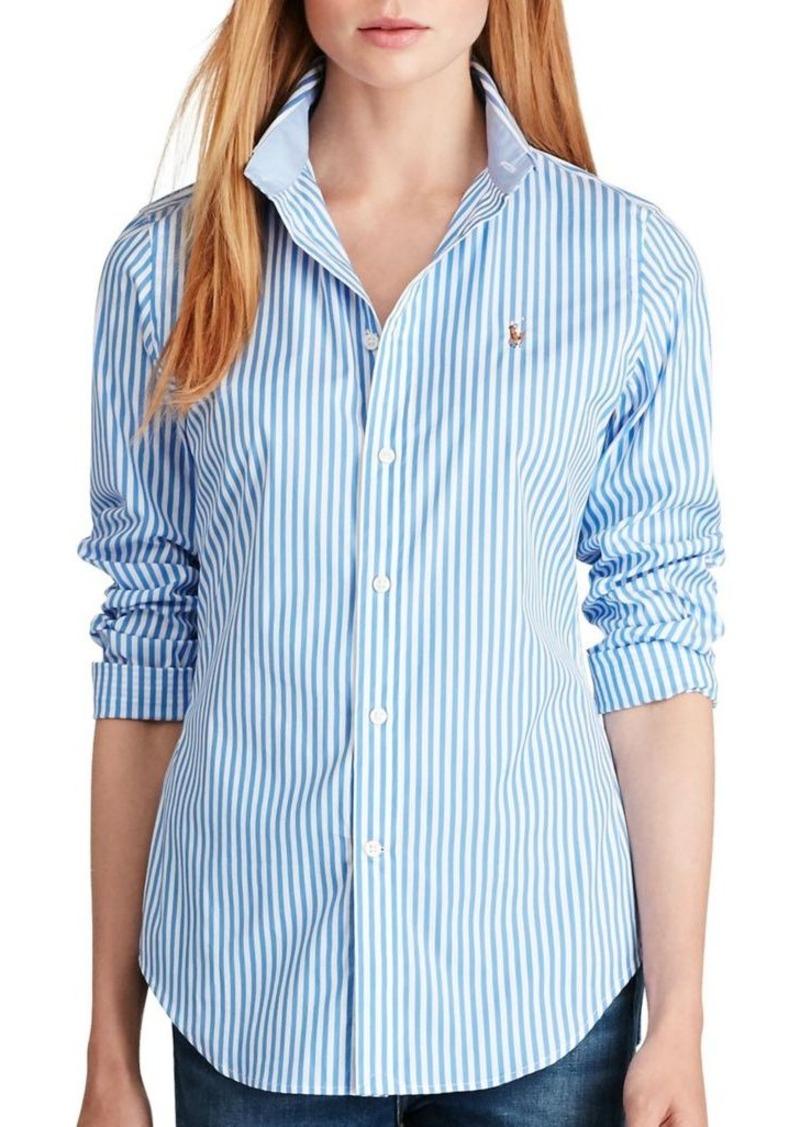 Ralph lauren polo polo ralph lauren kendal button down for Polo ralph lauren casual button down shirts
