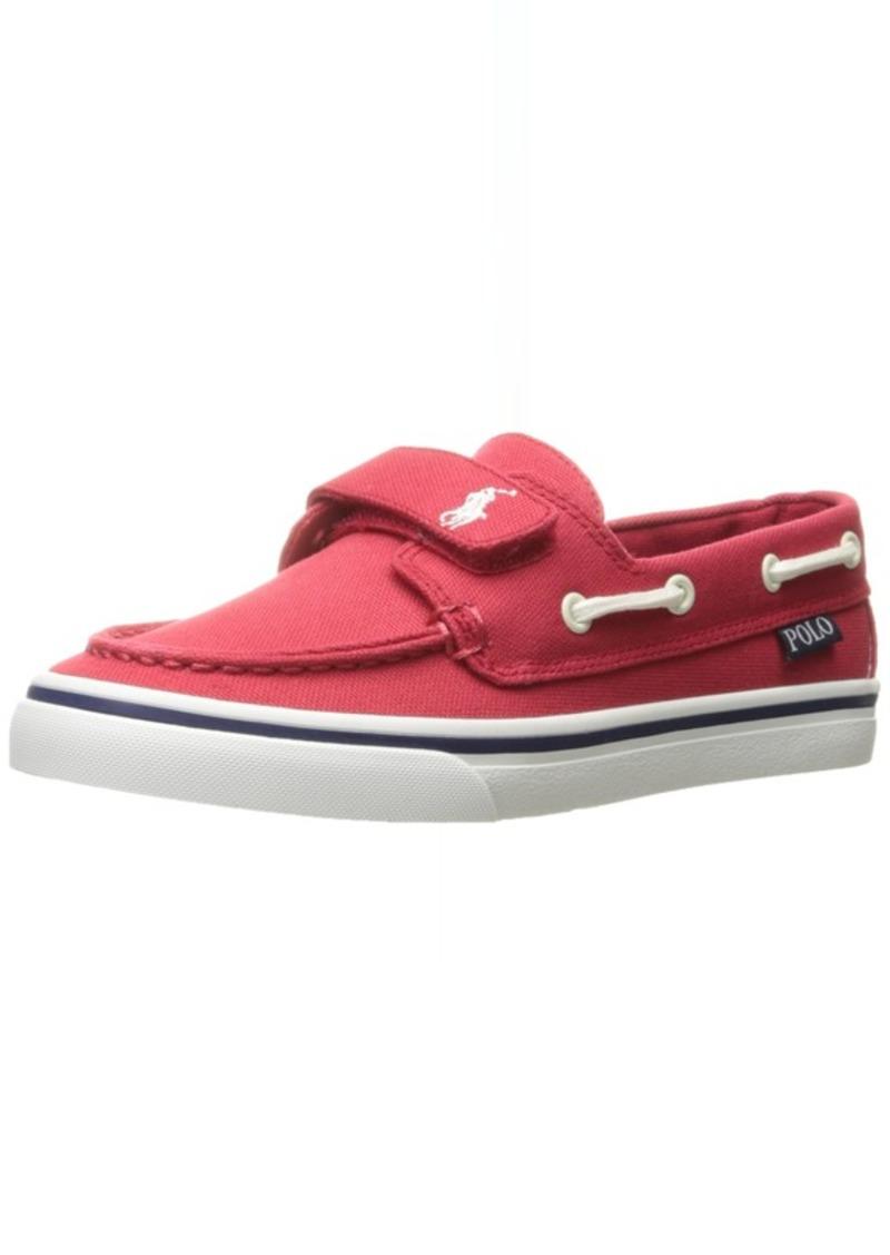 2b3f45f13b Polo Ralph Lauren Kids Boys' Batten EZ Boat Shoe 10.5 M US Little