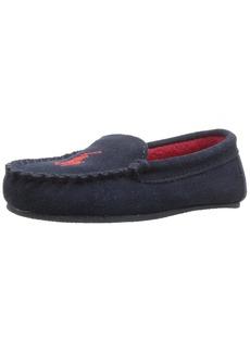 Ralph Lauren: Polo Polo Ralph Lauren Kids Boys' Desmond Moc Slipper  3 Medium US Little Kid