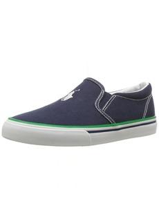 Ralph Lauren: Polo Polo Ralph Lauren Kids Boys' MOREES Sneaker  5.5 Medium US Big