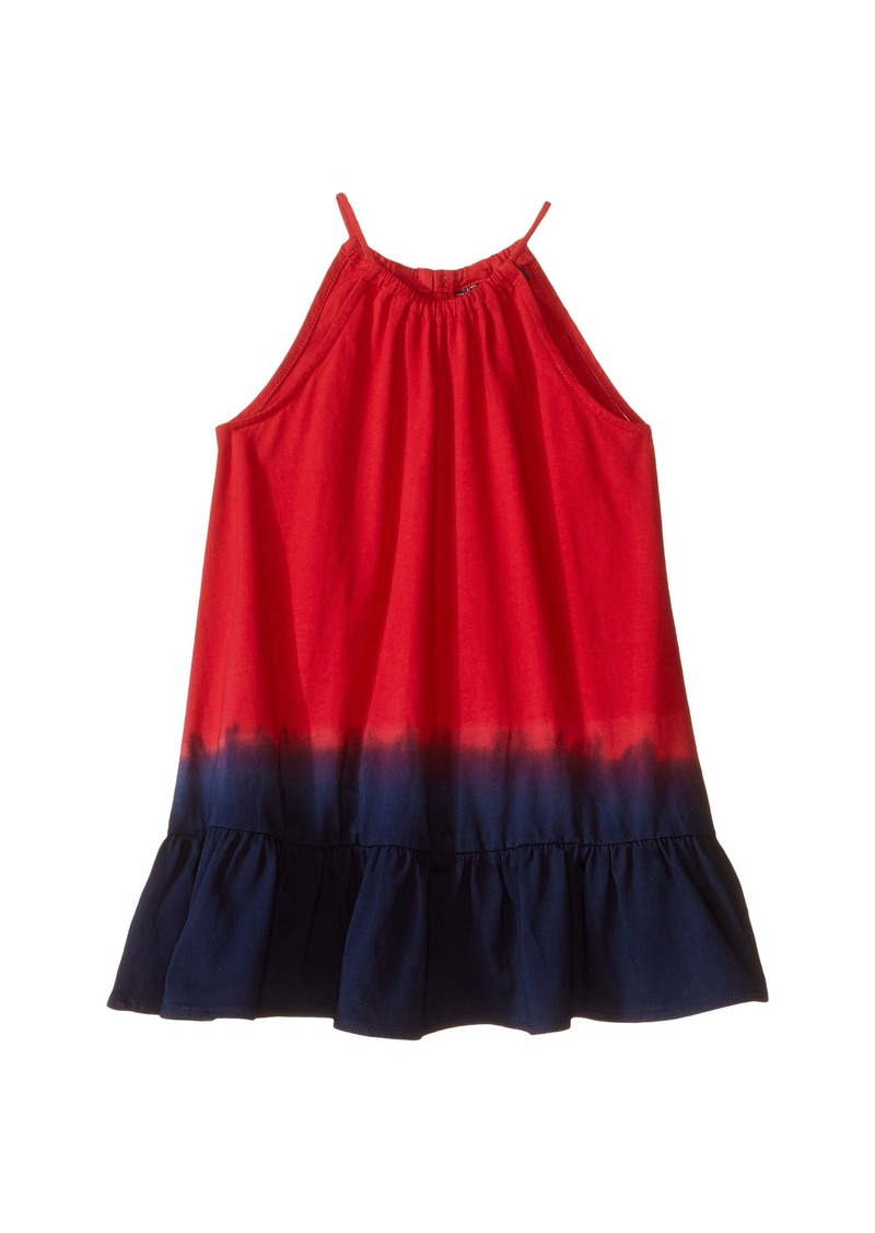 Ralph Lauren: Polo Polo Ralph Lauren Kids Jersey Dip-Dye Maxi Dress (Toddler)
