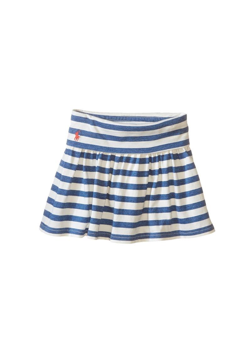 Ralph Lauren: Polo Polo Ralph Lauren Kids Modal Stripe Skirt (Toddler)
