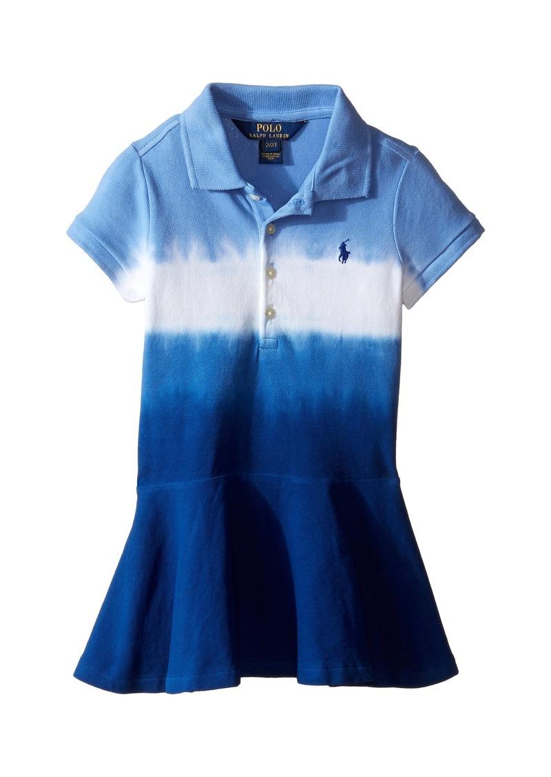 08f20acb34e0 Ralph Lauren  Polo Polo Ralph Lauren Kids Stretch Mesh Dip-Dye Dress ...