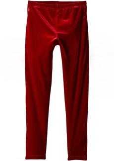 Ralph Lauren: Polo Stretch Velvet Leggings (Little Kids/Big Kids)