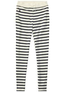 Ralph Lauren: Polo Striped French Terry Leggings (Little Kids/Big Kids)