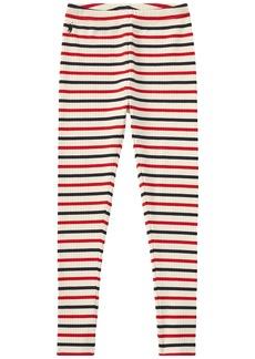 Ralph Lauren: Polo Striped Stretch Cotton Leggings (Little Kids/Big Kids)