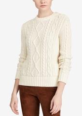 Ralph Lauren: Polo Polo Ralph Lauren Knit Button-Shoulder Sweater