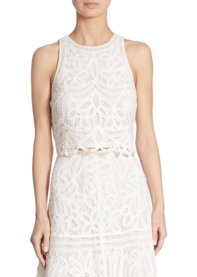 Polo Ralph Lauren Lace Cropped Top