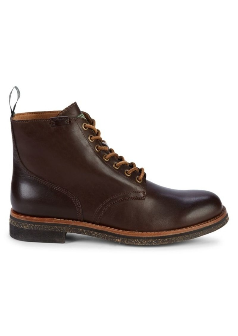 Ralph Lauren Polo Polo Ralph Lauren Leather Army Boots