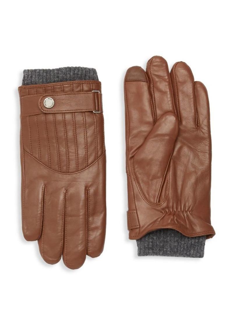 Ralph Lauren Polo Polo Ralph Lauren Men's Quilted Leather Racing Gloves