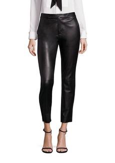 Ralph Lauren: Polo Polo Ralph Lauren Leather Straight-Leg Pants