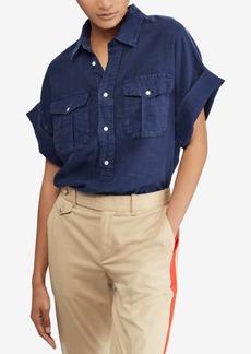 Ralph Lauren: Polo Polo Ralph Lauren Linen Utility Shirt