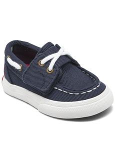 Ralph Lauren: Polo Polo Ralph Lauren Little Boys Bridgeport Ez Slip-On Casual Boat Sneakers from Finish Line