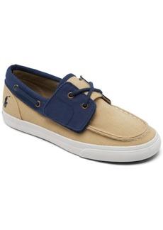 Ralph Lauren: Polo Polo Ralph Lauren Little Boys' Bridgeport Slip-On Casual Boat Sneakers from Finish Line
