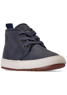 Ralph Lauren: Polo Polo Ralph Lauren Little Boys Chett Ez Mid Top Casual Sneaker Boots from Finish Line