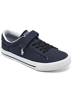 Ralph Lauren: Polo Polo Ralph Lauren Little Boys Easten 2 Casual Sneakers from Finish Line
