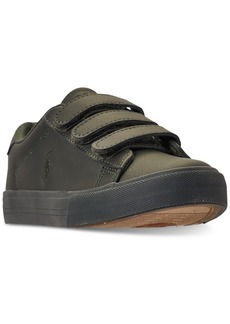 Ralph Lauren: Polo Polo Ralph Lauren Little Boys' Easten Ez Casual Sneakers from Finish Line