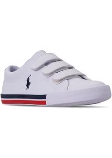 Ralph Lauren: Polo Polo Ralph Lauren Little Boys' Edmund Ez Casual Sneakers from Finish Line