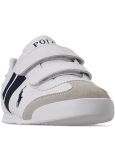 Ralph Lauren: Polo Polo Ralph Lauren Little Boys' Emmons Ez Slip-On Casual Sneakers from Finish Line